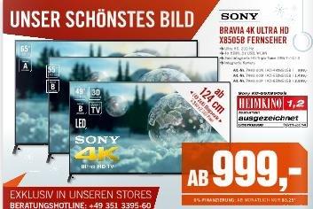 """[Cyberport] Sony 49"""" 4K Fernseher"""