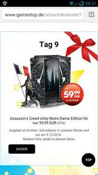 [Gamestop]Assassin's Creed Unity Notre Dame Edition für PS4