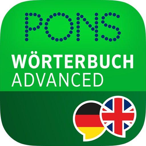 Pons advanced, Englisch  Deutsch {Android/iOS}