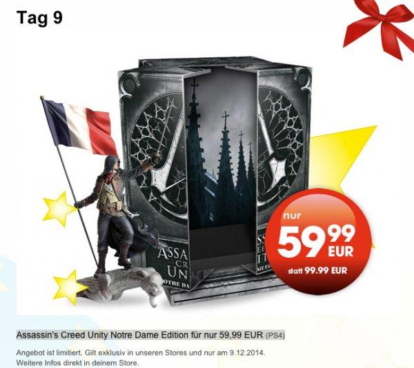 (Offline im Gamestop)Assassin's Creed Unity Notre Dame Edition für  59,99 EUR (PS4)