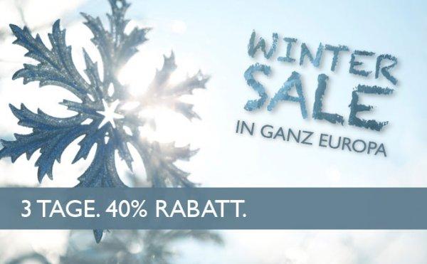 40% Rabatt auf Übernachtungen in ausgewählten Swissotel und Fairmont Hotels (in europäischen Großstädten)