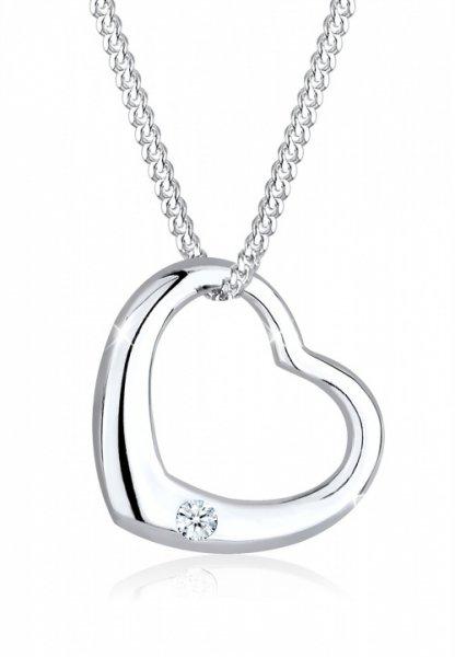 Für die Liebste: DIAMORE Halskette Herz mit Diamant