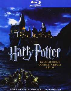 (Amazon.es) (BluRay) Harry Potter - Alle Filme - 8x BD für 29,50€