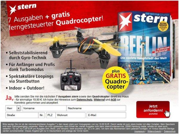 Stern: 7 Ausgaben + Gratis Quadrocopter