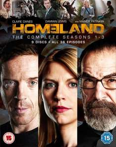 Homeland - Seasons 1-3 Box Set Blu-ray O-Ton [Zavvi.de]