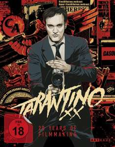 Tarantino XX - 20 Years of Filmmaking Blu Ray Box @Alphamovies für 46,99