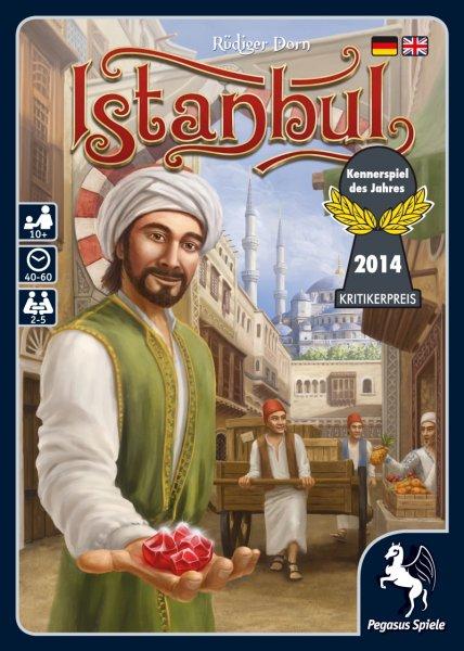 Istanbul - Kennerspiel des Jahres 2014 für 18,29€ + ggf 1,50€ VSK @ Amazon