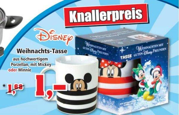 Disney Weihnachtstassen aus Porzellan für 1€! Bundesweit @ThomasPhilipps