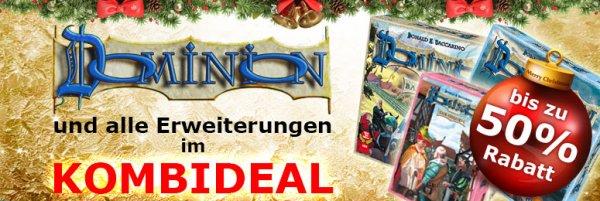 Dominion und alle Erweiterungen Weihnachtskombirabatt - bis zu 50%