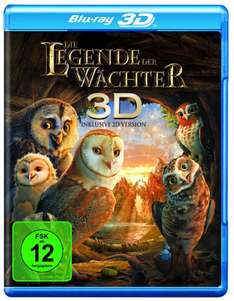 [Amazon] Legende der Wächter 3D +2D Blu-Ray - 12,98€ inkl. Vsk
