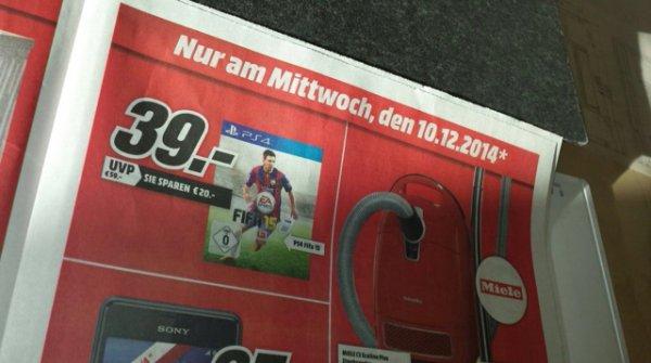[Mediamarkt] FIFA 15 für PS4