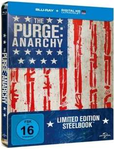 [Blu-ray] (3D)-Filme (u.a. Planet der Affen), Steelbooks (The Purge: Anarchy), Collections und Serien @ Alphamovies