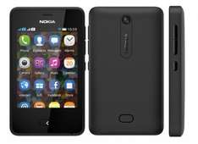 Nokia Asha 501 in schwarz Dual-Sim 3.2 Megapixel Kamera MP3-Player @Favorio.com  51.85€