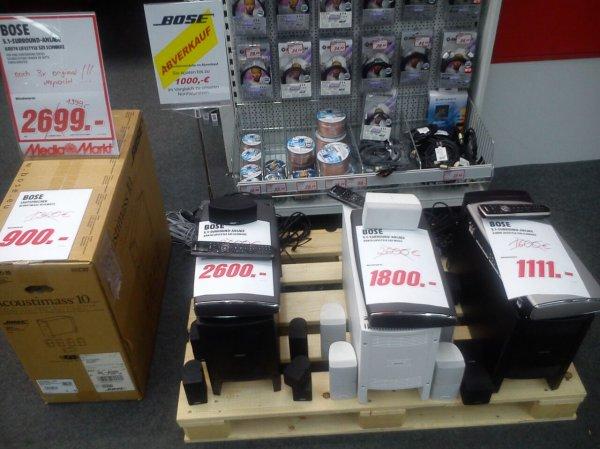 Bose Abverkauf im Media Markt Zwickau