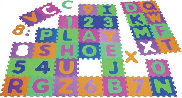 smdv: Playshoes Puzzlematte ABC + Zahlen 36-teilig
