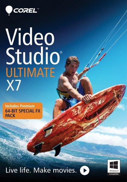 [Amazon.com] Corel VideoStudio Ultimate X7 (Engl.) - 24,20€ statt 60€ - bis 17Uhr!