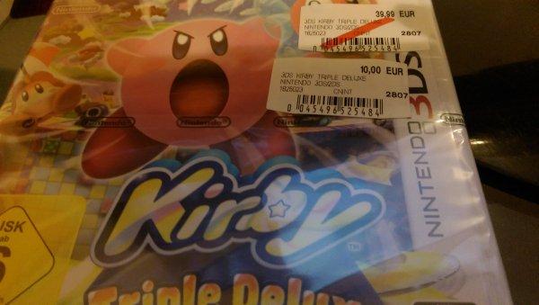 Kirby Triple Deluxe 3DS 10 Euro Media Markt Lokal Göttingen?