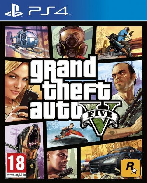GTA (Grand Theft Auto) V für PS4 aus England