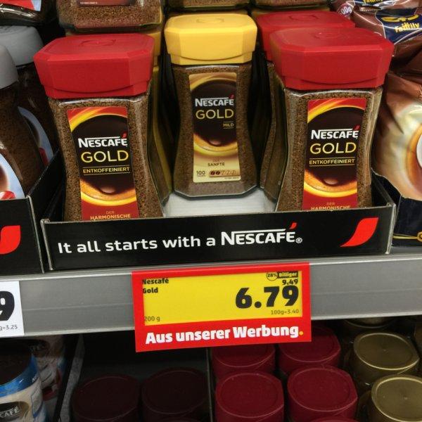 [Penny] Nescafé Gold für 6,79€ statt 9,49€