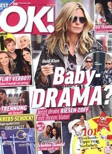 Jahresabo der Zeitschrift OK! als E-Paper für effektiv 0,28 € durch 85€ Bargeldprämie