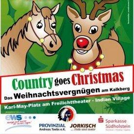 """[Bad Segeberg] Mit SZ-Laterne am Freitag FREIER EINTRITT zum Weihnachtsvergnügen """"Country Goes Christmas"""""""