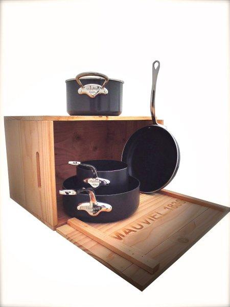 Mauviel 820020 4tlg Topf-/Pfannenset für 214,50€ @Amazon.fr