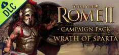 Total War: ROME II - Wrath of Sparta DLC Steam Key