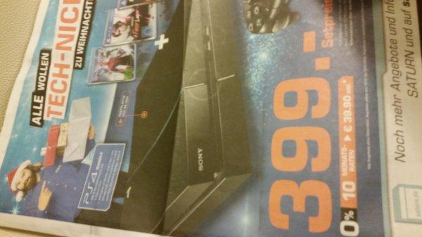Lokal? Playstation 4 Saturn Delmenhorst 399€ 3 Spiele + Controller