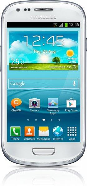 [lokal Media Markt Weiterstadt] Samsung S3 Mini Android Smartphone in schwarz oder weiß für 99,-