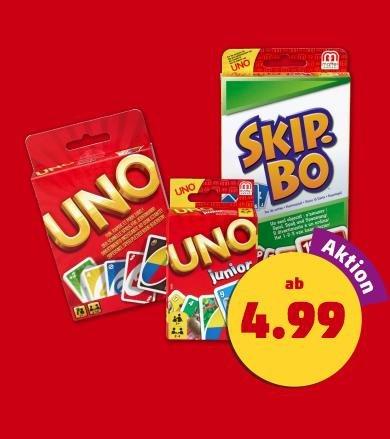 (Penny) UNO Kartenspiel ab heute 11.12. für nur 4,99€ oder Skip Bo für 9,99€ (bundesweit)