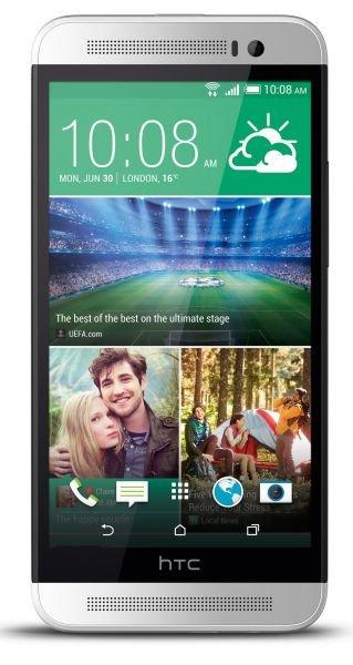 "HTC One E8 Polar Weiß - 5"" Full HD IPS,13 MP Kamera, Polycarbonat-Unibody, 2,3 Ghz Quad-Core, LTE für 349€ @ Base Shops (Bundesweit)"