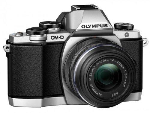 Olympus OM-D E-M10 (silber) + Objektiv 14-42 mm [II R] für 568,31 € @Amazon.fr