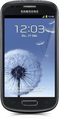 GetItQuick -  SAMSUNG Galaxy SIII mini I8200 black + 15 € Gutschein & 41,70 € Superpunkte