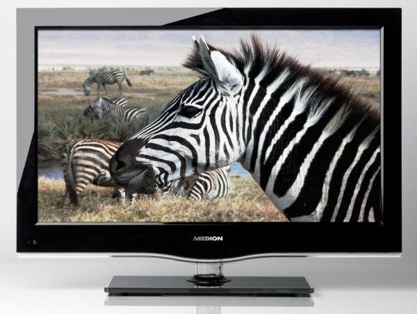 Medion Life P15080 32 Zoll LED-Backlight-Fernseher Full-HD, Triple Tuner, schwarz