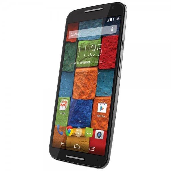 Motorola Moto X (2. Gen) schwarz, 32 GB, LTE für 479 € bei ebay/redcoon