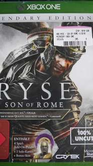 "[LOKAL] MediaMarkt Hameln. Xbox One Game ""Ryse: Son of Rome - Legendary Edition"" für 29.99€"