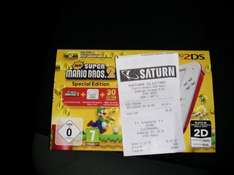 [LOKAL/Saturn Moers] Nintendo 2DS mit New Super Mario Bros. 2 - 69€