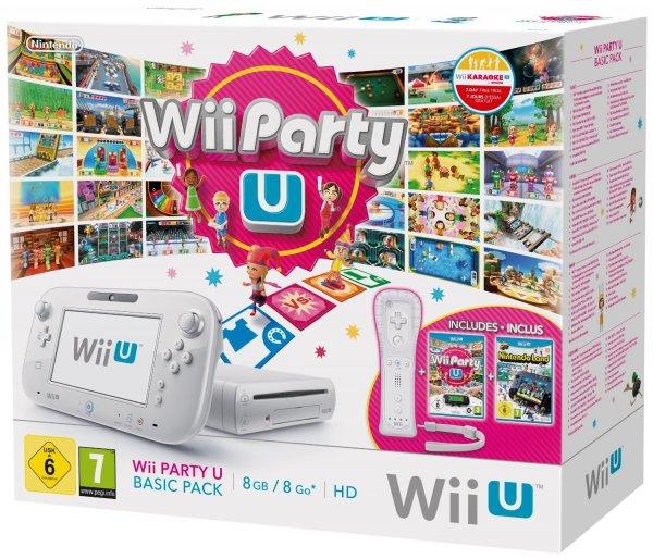 Nintendo Wii U Basic Party Pack inkl. Wii Party U, Nintendoland, Wiimote Plus + Sensor Bar für 222€ @amazon.de Blitzangebot wieder verfügbar!