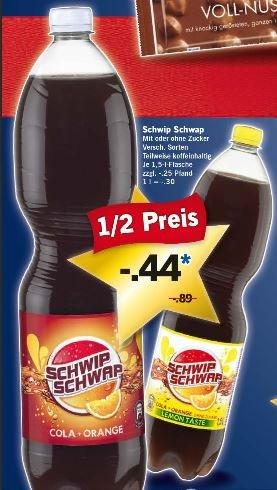 [LIDL] Schwip Schwap (versch. Sorten) ab Do. 18.12 für 0,44 Euro