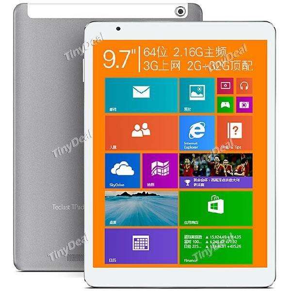 TECLAST X98 Air 3G 9.7  Windows 8.1 /  Android 4.4 / Dual Boot