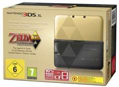 Nintendo 3DS XL Gold inkl. Zelda: A Link Between 192€ @Amazon