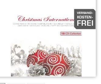 Saturn Online Shop Weihnachts CD-Box mit 12 CDs für 10,00 €