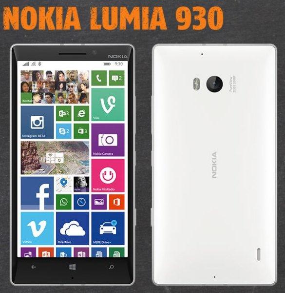Nokia Lumia 930 ohne Vertrag bei klarmobil für 299 Euro