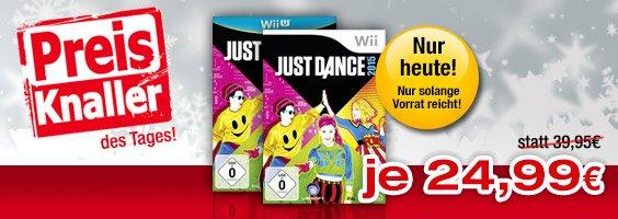 Just Dance 2015 für Wii und Wii U für 24,99