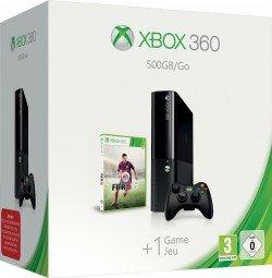 Microsoft New Xbox 360 Slim E - 500GB, Fifa 15 Bundle - 185,00 € bei Comtech