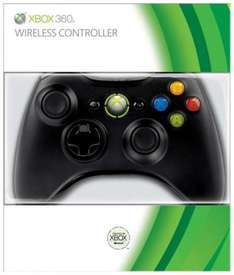 Xbox 360 Black Wireless Controller bei Zavvi.com