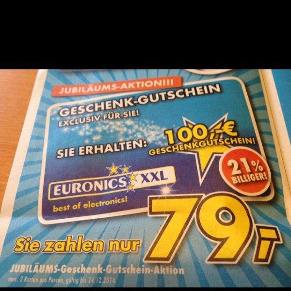 100 € Gutschein für 79 €, Samsung UE55H6870 für 999 € [Lokal Euronics Backnang 71522]
