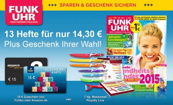 21x Funkuhr mit 5,70€ Gewinn ohne Werben