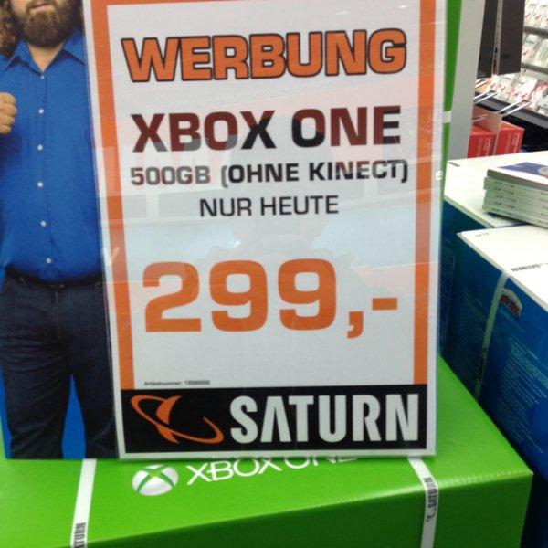 [Hamburg EEZ Saturn] Xbox One (ohne Kinect)