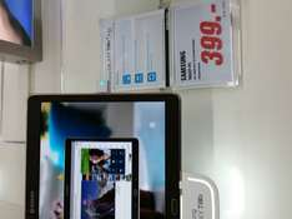 "lokal Media Markt Berlin Mitte Samsung SM T800N Tab S 10"" 399,-€"